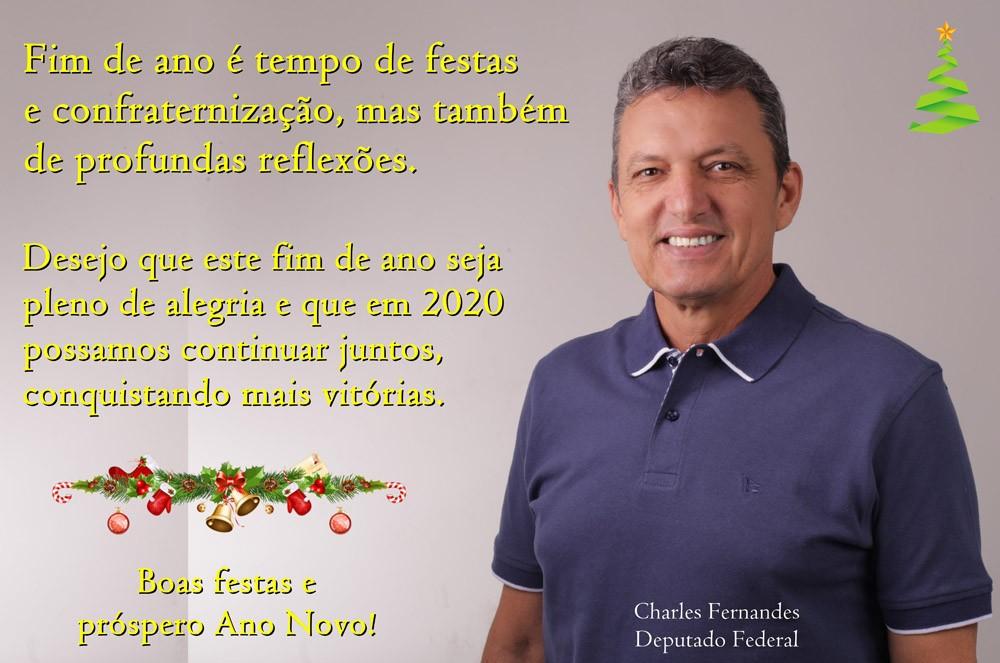 MENSAGEM DA DEPUTADO FEDERAL CHARLES FERNANDES