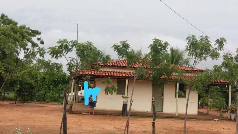 Sítio localizado na região Campo de Baixo, em Palmas de Monte Alto