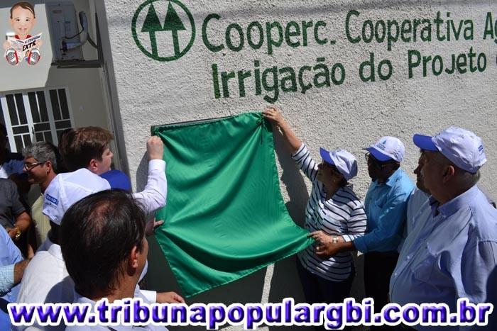 Moderna infraestrutura de irrigação do projeto Ceraíma