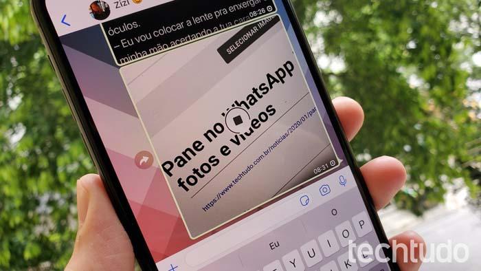 Problema no WhatsApp: usuários não conseguem enviar fotos, vídeos e áudio