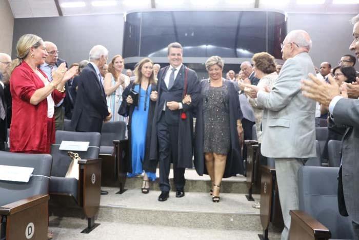 Ivana Bastos prestigia solenidade de posse de Henrique Trindade no TRE