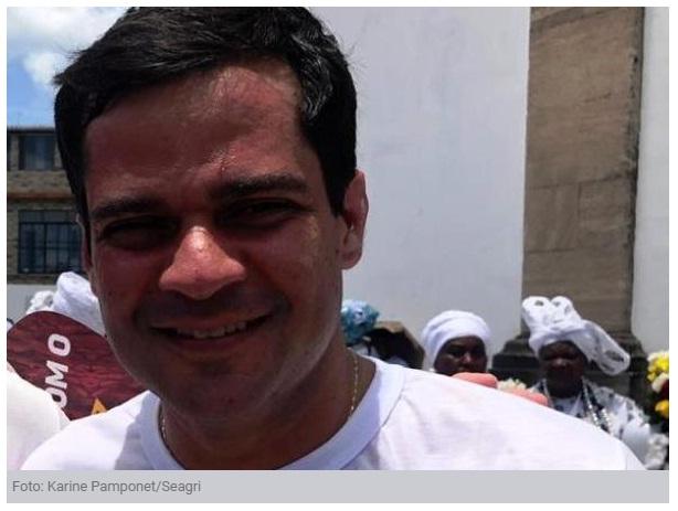Jairo Magalhães recebe o Secretário de Agricultura da Bahia nesta segunda-feira (03)