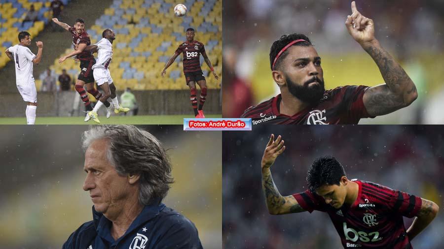 Flamengo leva susto, mas bate Resende de virada na estreia dos titulares graças a Gabigol e Bruno Henrique