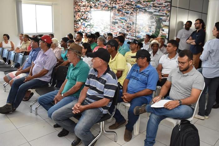 Prefeitura de Guanambi promove encontro de associações rurais com Secretário Estadual de Agricultura