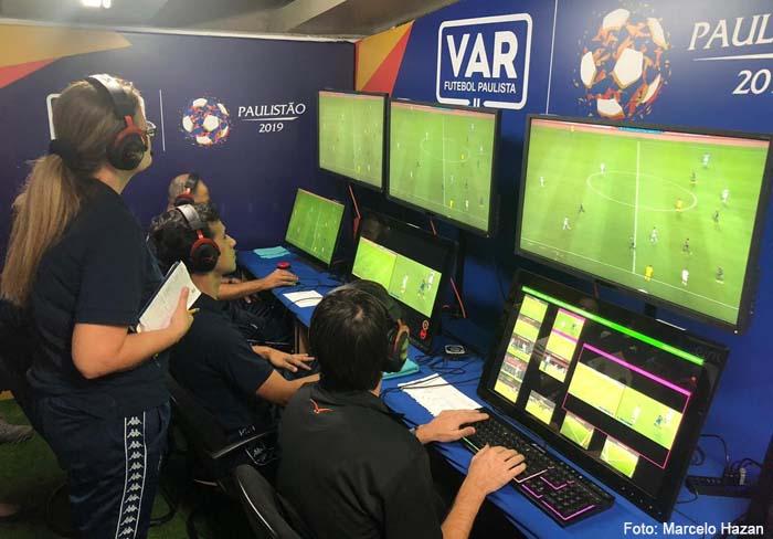 Pela primeira vez na América, Brasil vai utilizar o VAR fora do estádio