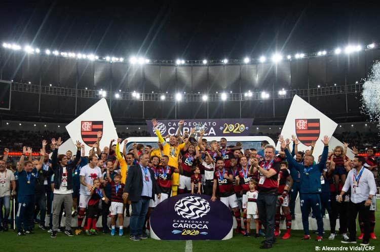 Flamengo vence Boavista de virada e leva a Taça Guanabara