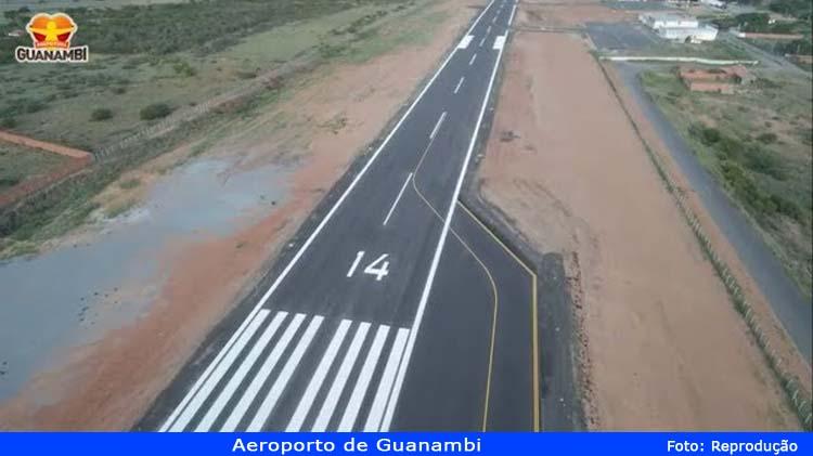 Aeroportos de Guanambi e outras 6 cidades passam a operar com instrumento de auxilio a navegação