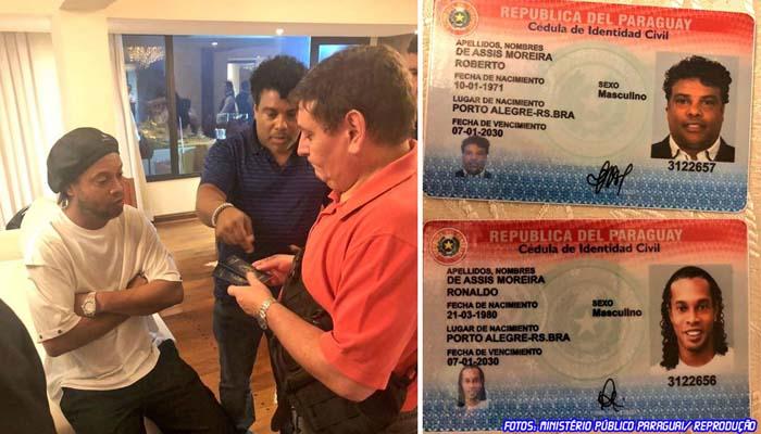 Ronaldinho Gaúcho é investigado por suspeita de uso de passaporte falso no Paraguai