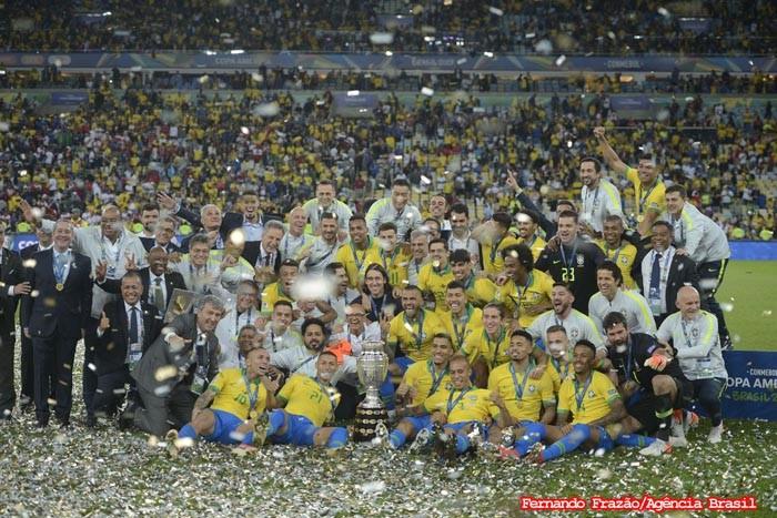 Brasil confirma favoritismo, vence o Peru e conquista sua nona Copa América