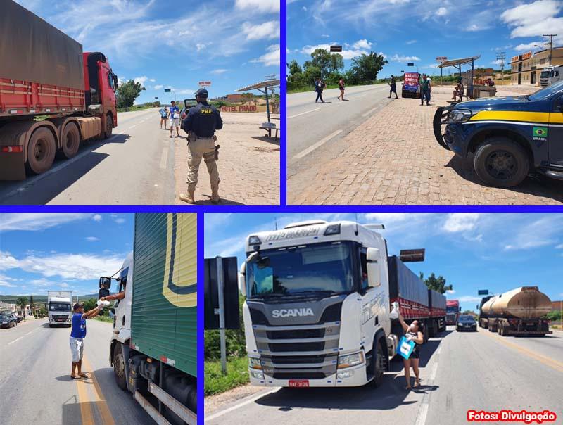 Em meio a pandemia do novo coronavírus caminhoneiros recebem refeições gratuitamente na Região da Chapada Diamantina
