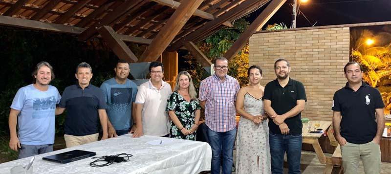 Charles Fernandes e Ivana Bastos participam da filiação do Prefeito Jairo Magalhães, Dr. Agostinho Lira, André Moitinho e Hélio (Lelé) no PSD
