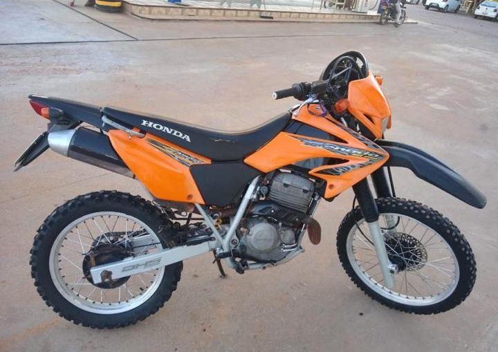 Motocicleta é furtada no centro de Palmas de Monte Alto