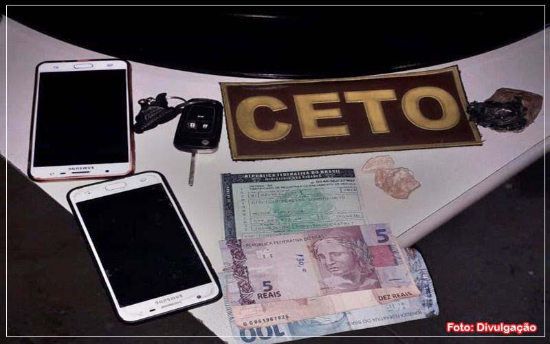 Quatro pessoas foram detidas com drogas em Guanambi