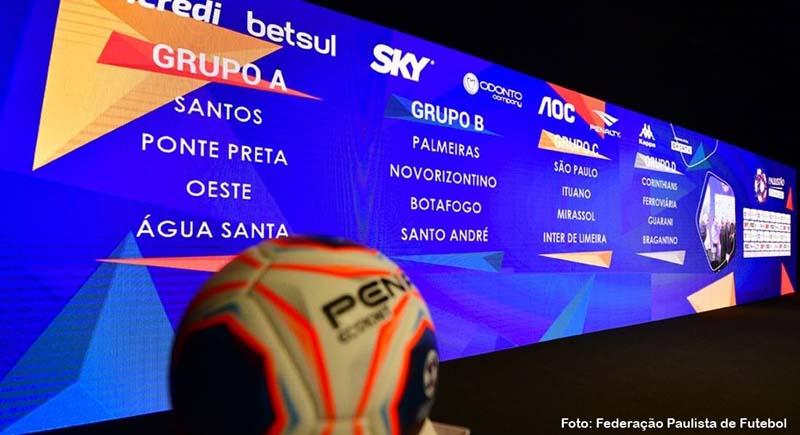 Paulistão terminará em campo e pode ter portões fechados, decide FPF