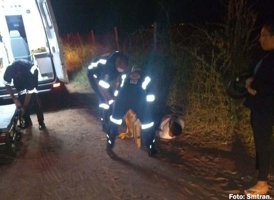 Motorista atropela ciclista e carrega no capô por cerca de 10 KM em Guanambi
