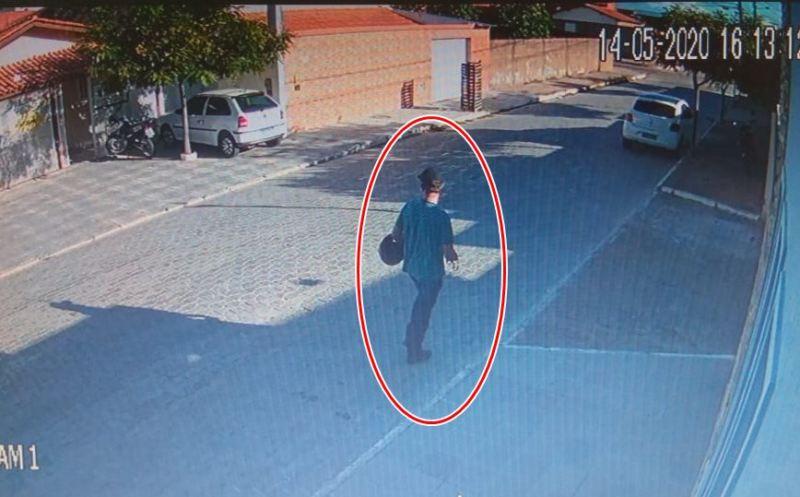 Motocicleta é furtada em frente de residência no bairro Santa Catarina, em Guanambi