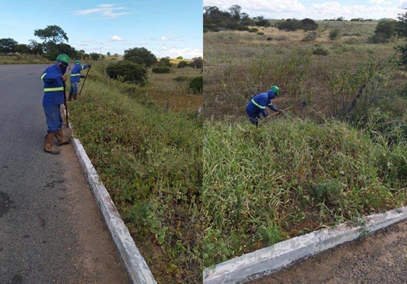 A pedido de Ivana Bastos e Hugo Costa iniciada manutenção da estrada que liga Guanambi a Matina