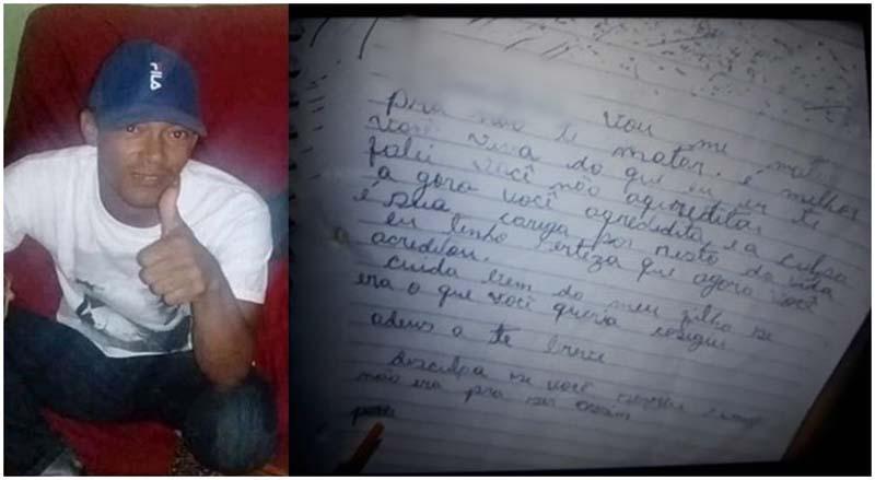 Homem comete suicídio na zona rural de Carinhanha; ele deixou carta de despedida