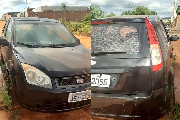 Bandidos armados rendem motorista e roubam veículo em Caculé