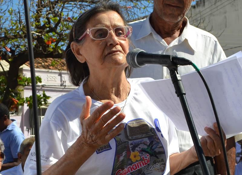 Faleceu em Guanambi a Professora Nice Amaral