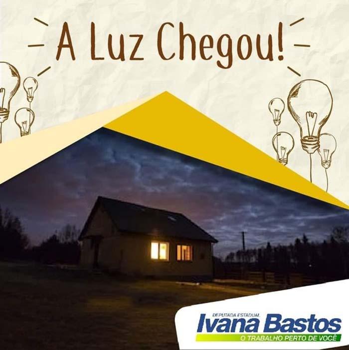 Mandato de Ivana garante energia elétrica para famílias em Guanambi