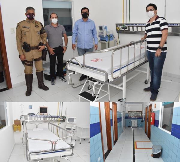 Prefeito de Guanambi vai inaugurar hospital de campanha