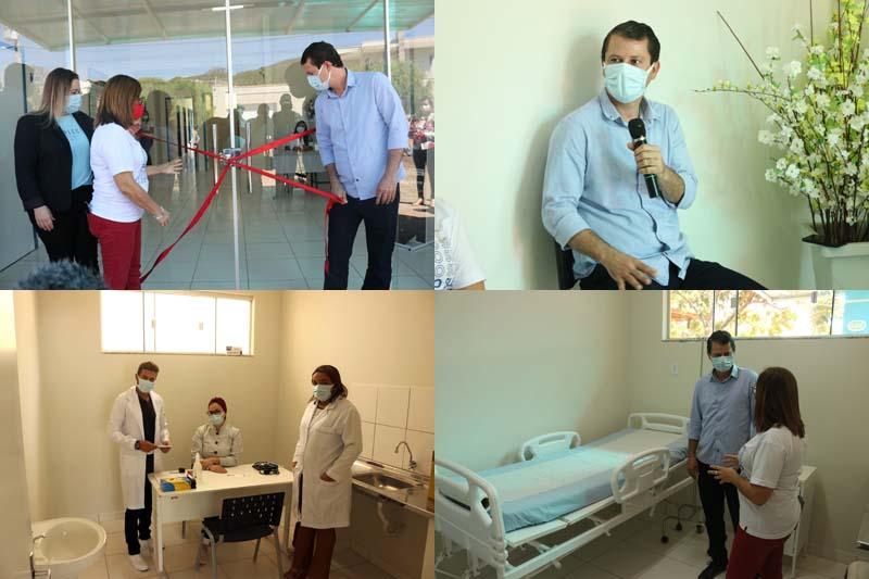 Prefeito entrega centro para sintomáticos respiratórios em Caetité