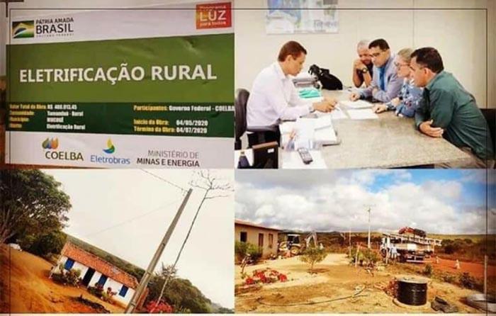 Comunidades rurais de Mucugê celebram a chegada da energia elétrica