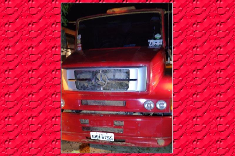 Candiba: Polícia Militar apreende mais um caminhão produto de furto