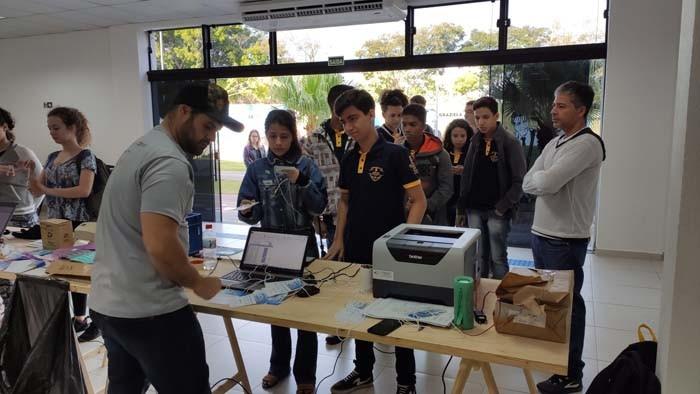 Estudantes do IF Baiano de Guanambi participaram de evento nacional sobre drones