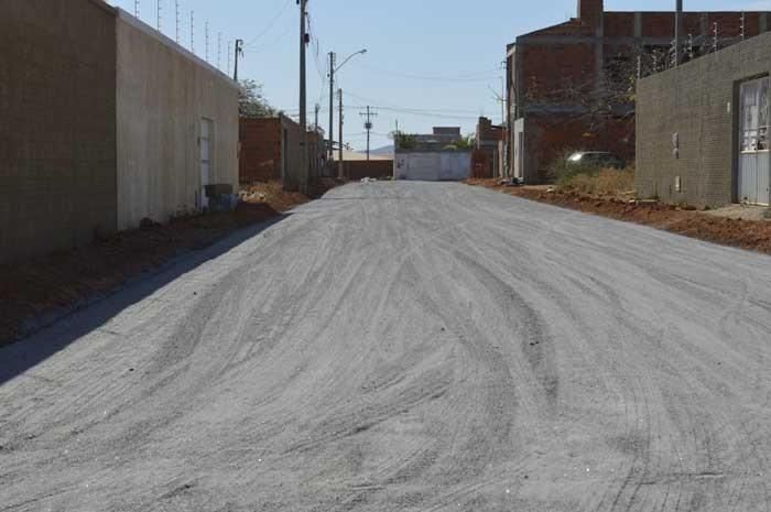 Prefeitura de Guanambi avança nas obras de pavimentação