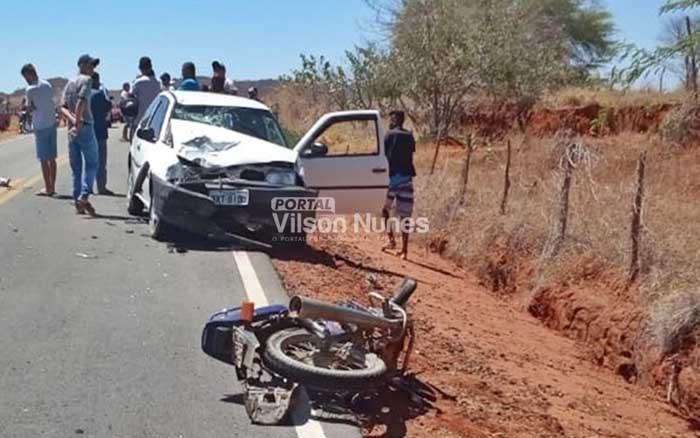 Polícia identifica casal que morreu em trágico acidente em Candiba; veja quem são as vítimas
