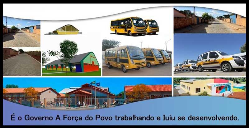 Prefeito de Iuiú entregará obras e veículos no dia 14 de setembro