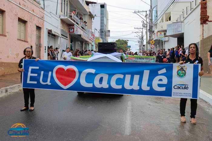 O Governo de Caculé, através da Secretaria Municipal da Educação e Cultura, realizou no dia 07 de setembro de 2019, o desfile cívico alusivo a Independência do Brasil