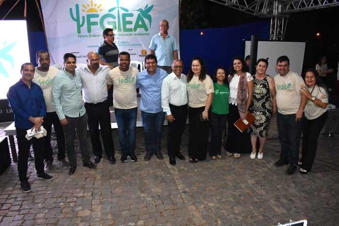 Prefeito Jairo Magalhães abre oficialmente o II Fórum Guanambiense de Educação Ambiental