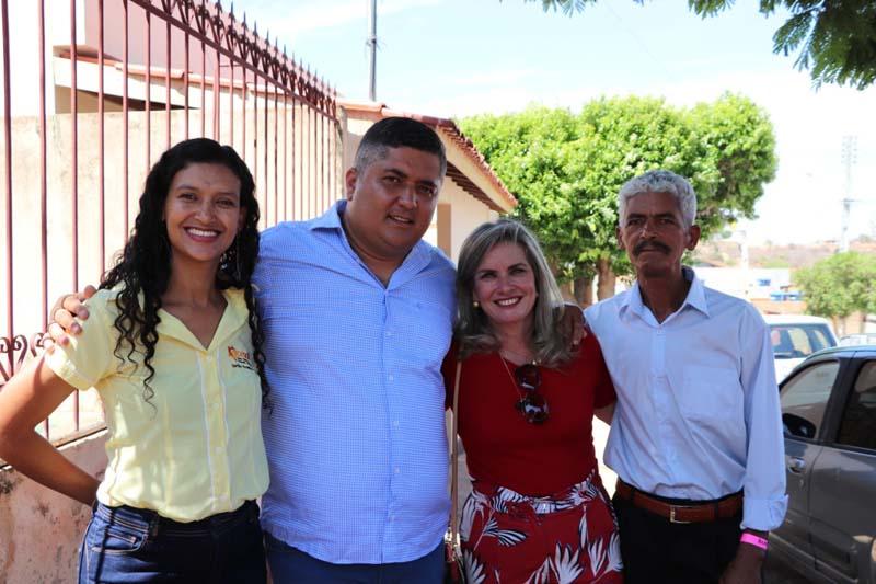 Ivana declara apoio à pré-candidatura de Neto de Edi à prefeitura de Urandi