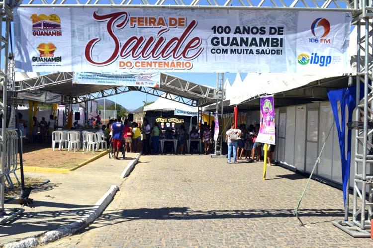 Bairro Monte Azul recebe Feira de Saúde em Guanambi