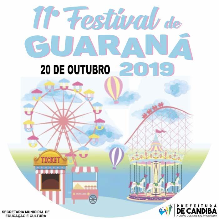 Candiba irá realizar 11° festival de guaraná neste final de semana
