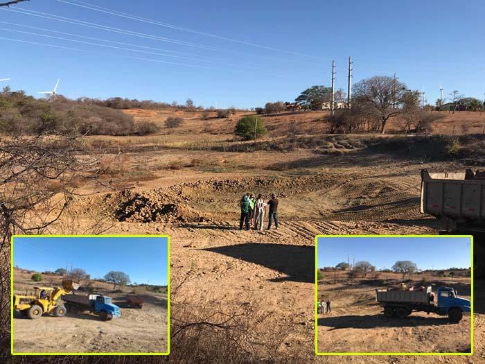 Prefeitura de Guanambi promove limpeza de Barragem em Jurema dos Barbosa - Morrinhos