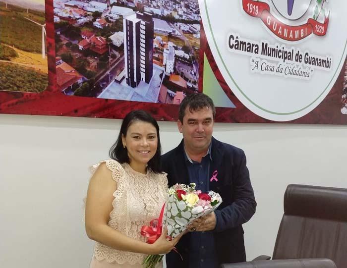 Câmara de Guanambi promove palestra sobre o incentivo a prevenção ao câncer de mama