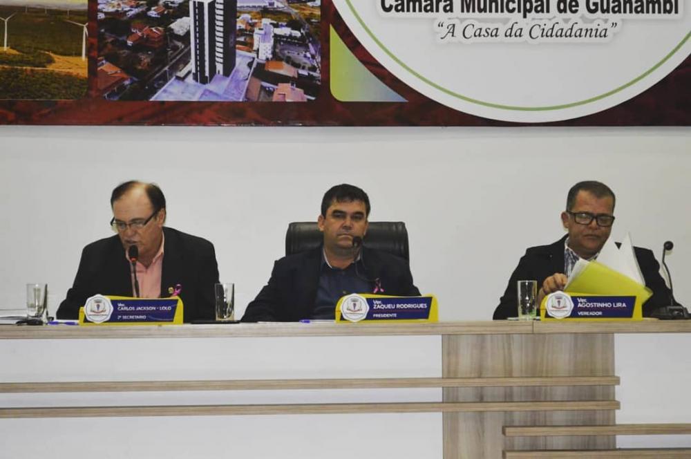 Transformação da Secretaria de Indústria e Comércio para Secretaria Municipal de Desenvolvimento Econômico de Guanambi é aprovada pelos vereadores.