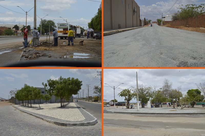 Obras de mobilidade urbana valorizam perfil urbano em Guanambi