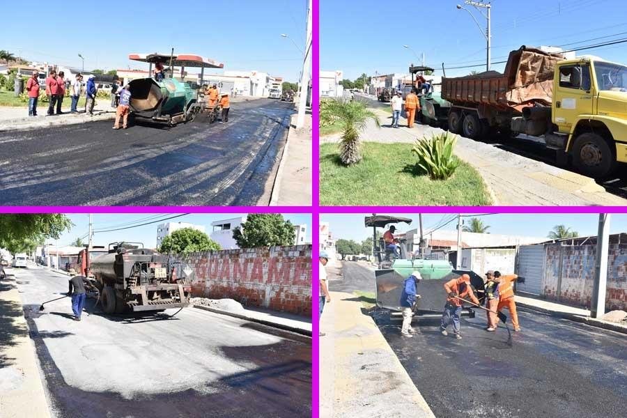 Prefeitura de Guanambi realiza pavimentação asfáltica e requalifica a Avenida Tiradentes