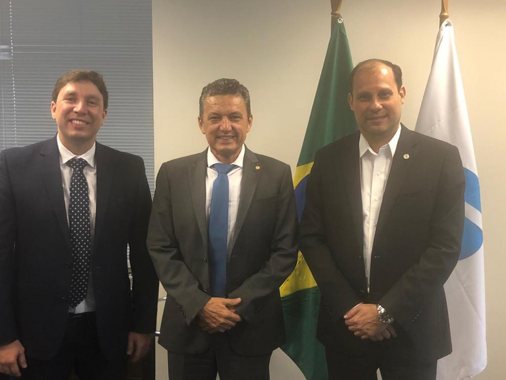 Em reunião com Charles Fernandes presidente da Anac agenda inspeção final para a liberação do Aeroporto de Guanambi