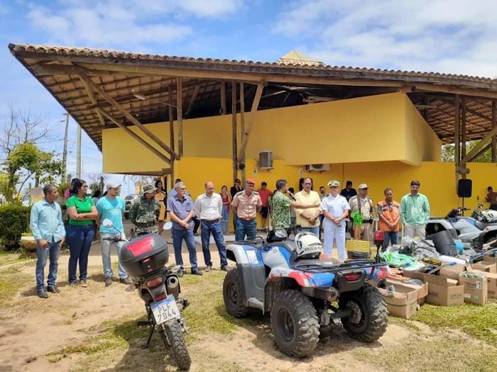 BAMIN integra mutirões de limpeza das praias da região de Ilhéus