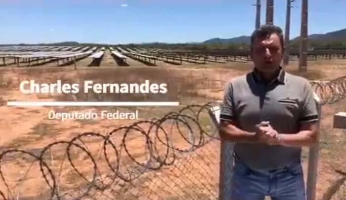 Após luta de seu mandato, Charles Fernandes comemora a retirada da proposta da Aneel de criar taxa na energia solar residencial
