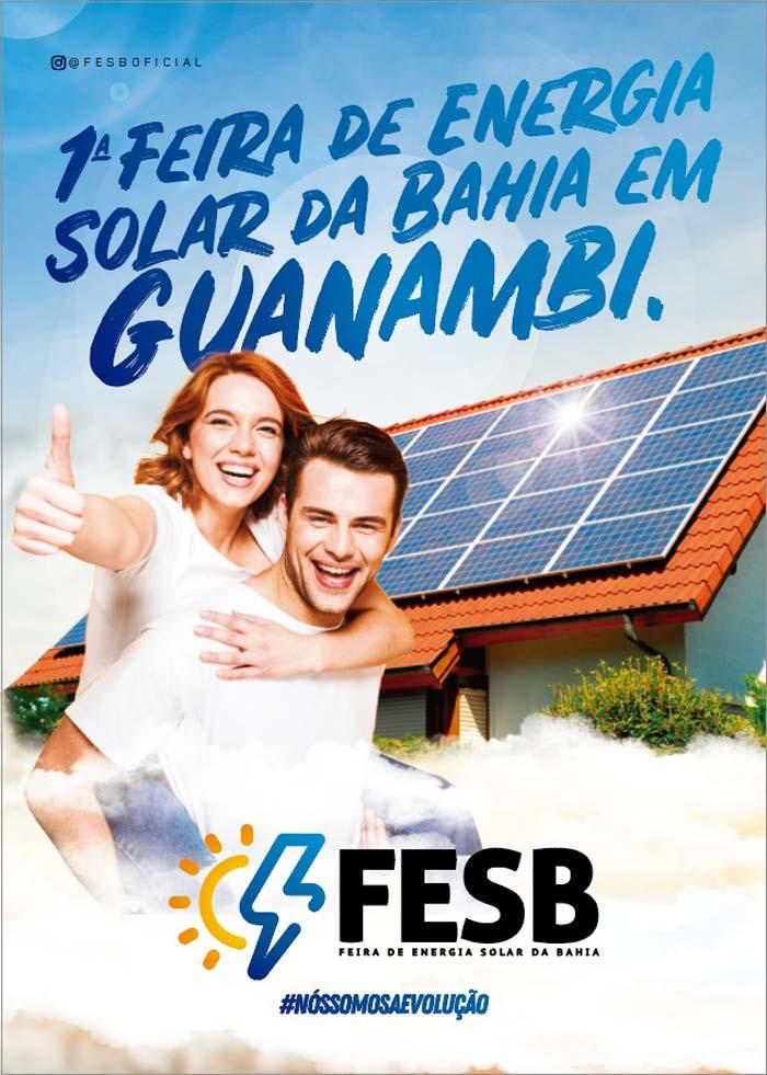 Guanambi será sede da Feira de Energia Solar da Bahia – FESB