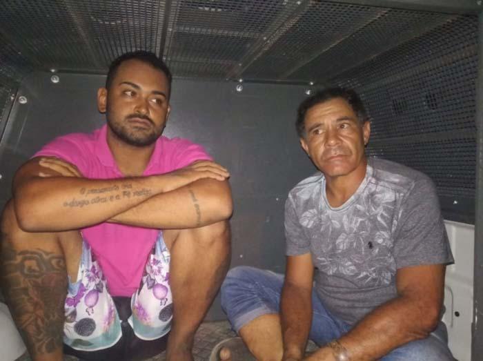 Dupla é presa com drogas no Bairro Aeroporto Velho em Guanambi