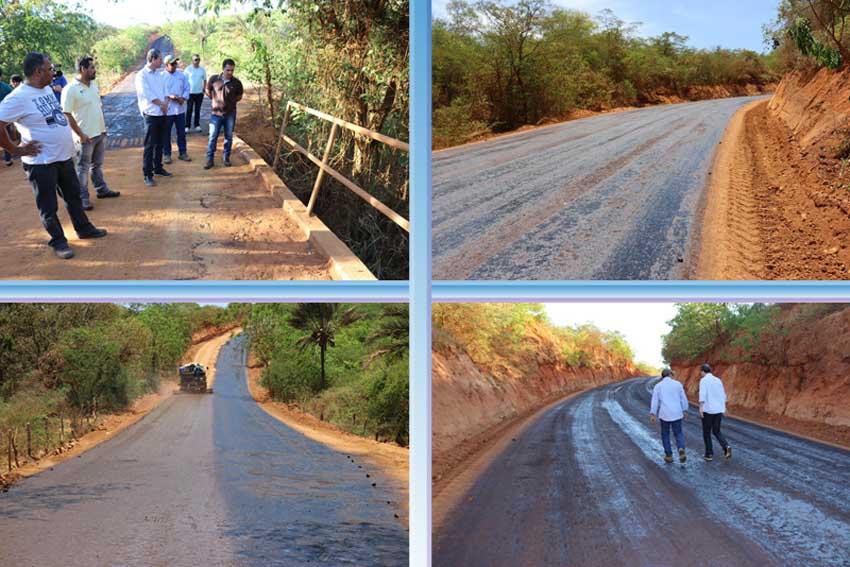 Prefeitura de Caetité investe recursos próprios na pavimentação da ladeira do Cumbe em Santa Luzia