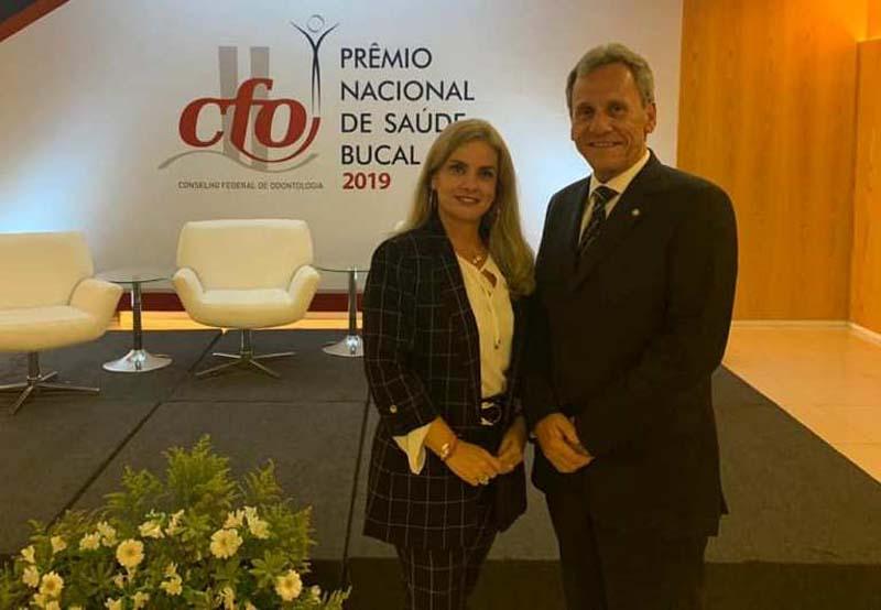 Dom Basílio: Ivana Bastos prestigia solenidade de premiação de Saúde Bucal 2019